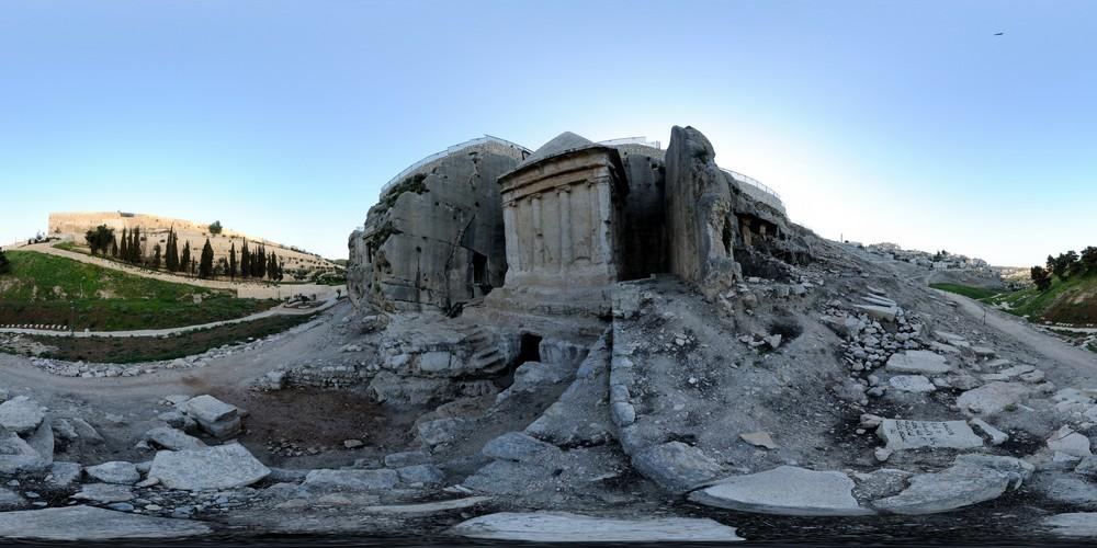 קבר זכריה, סיור וירטואלי בירושלים 360