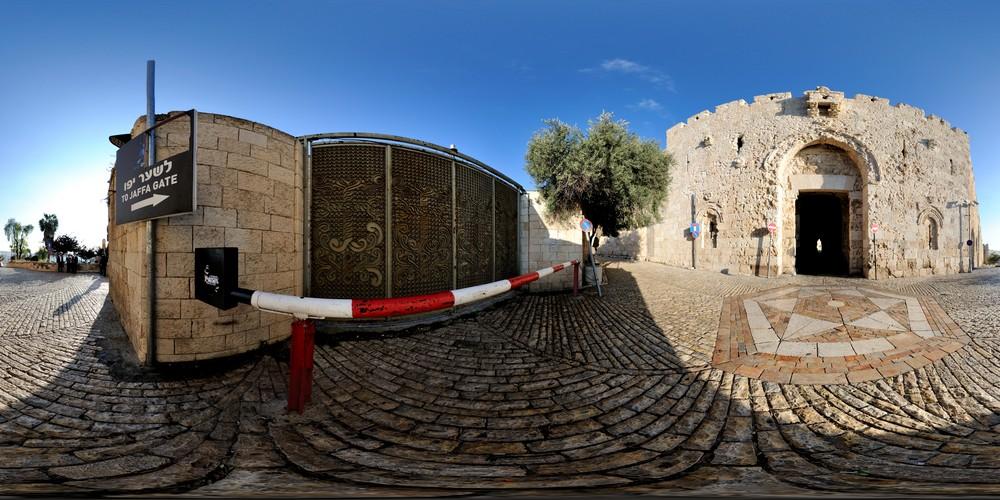 שער ציון סיור וירטואלי בירושלים 360