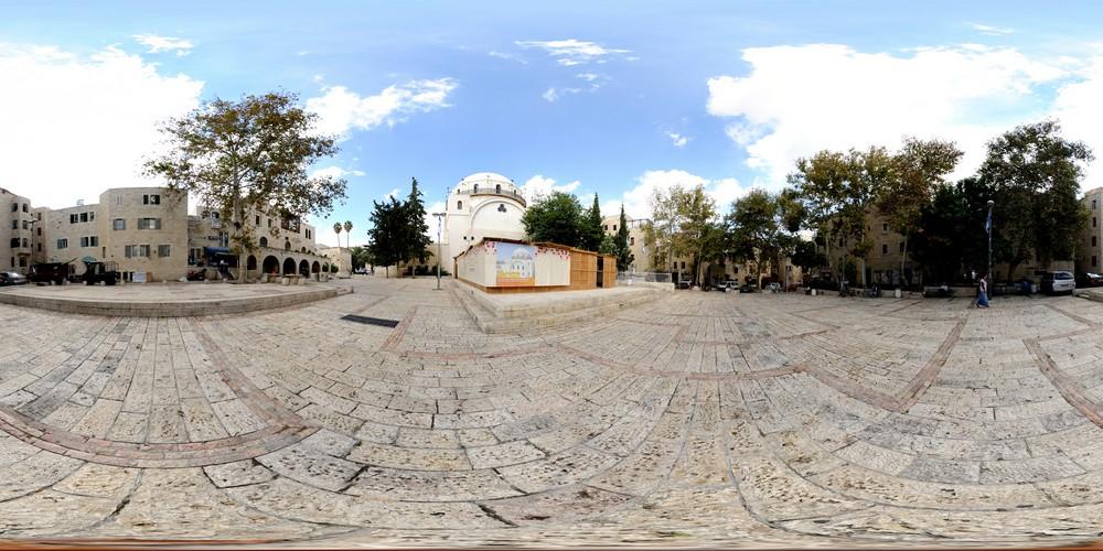 רחבת החורבה, סיור וירטואלי בירושלים 360