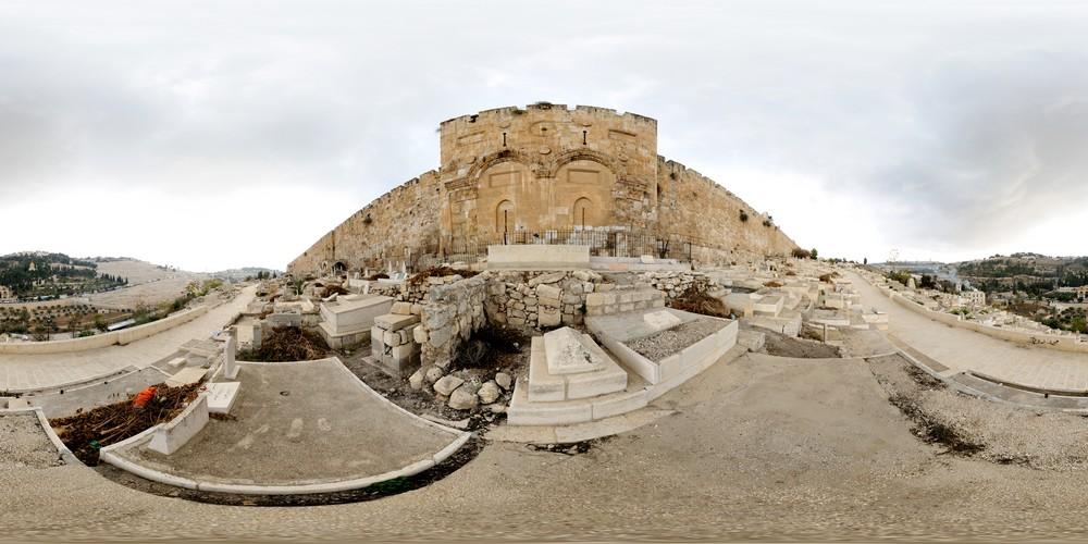 שער הרחמים, סיור וירטואלי בירושלים 360