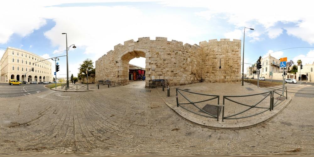 השער החדש, סיור וירטואלי בירושלים 360