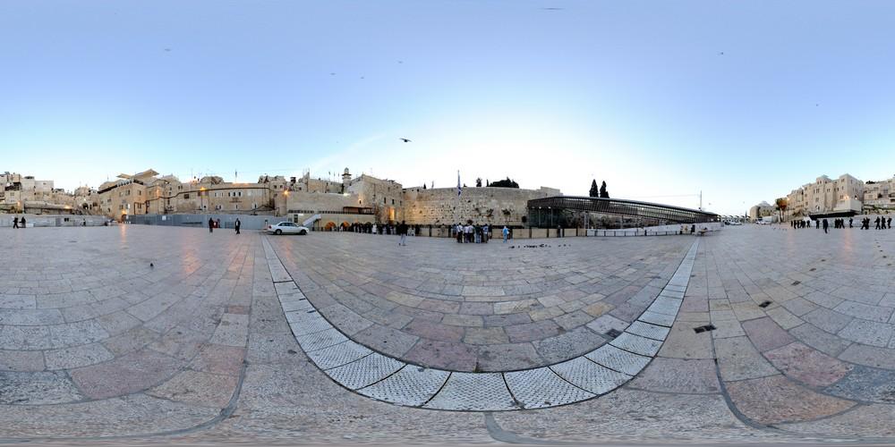 רחבת הכותל, סיור וירטואלי בירושלים 360