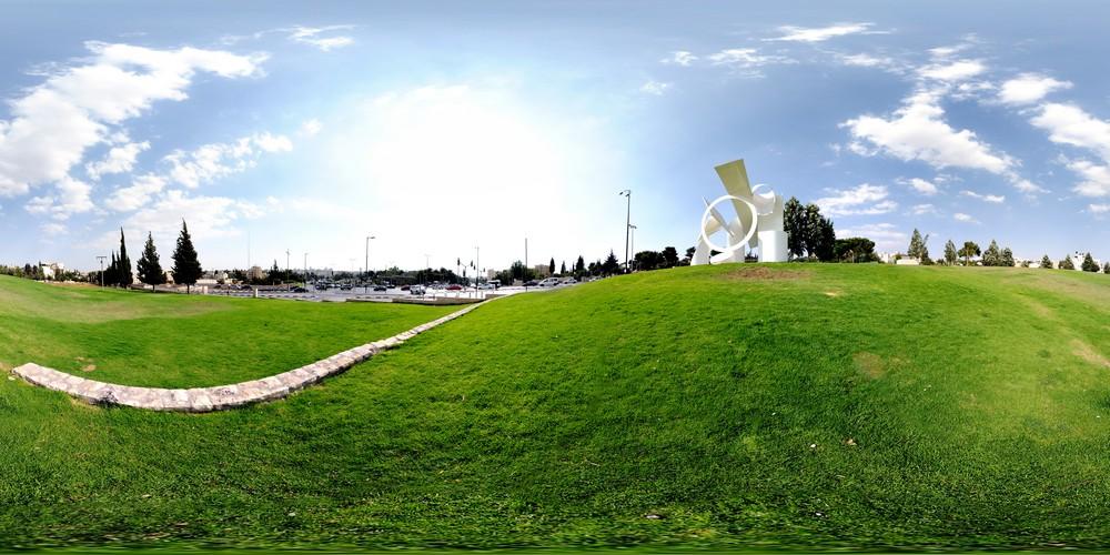 הפסל הלבן בגבעה הצרפתית, סיור וירטואלי בירושלים 360