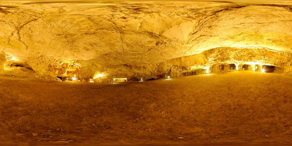 מערת צידקיהו, סיור וירטואלי בירושלים 360