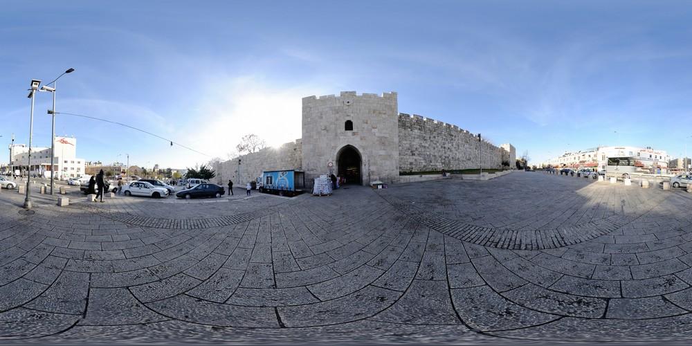 שער הפרחים סיור וירטואלי - ירושלים 360