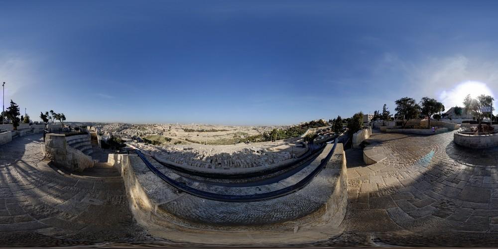,תצפית מהר הזיתים סיור וירטואלי - ירושלים 360