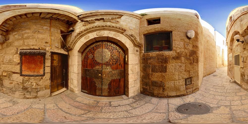 ביתי הכנסת הספרדיים סיור וירטואלי - ירושלים 360